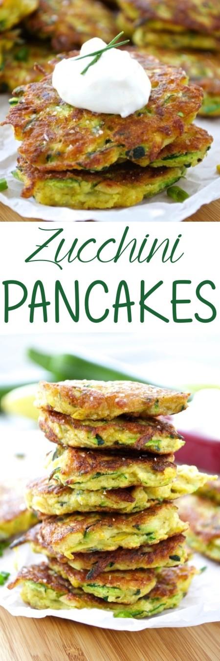 Zucchini Pancakes Pin