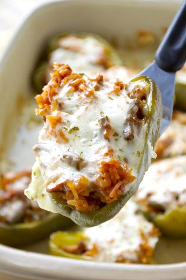 Sausage Stuffed Pepper
