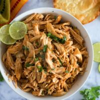 5 Ingredient Slow Cooker Chipotle Chicken