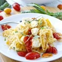 Spaghetti Squash Caprese