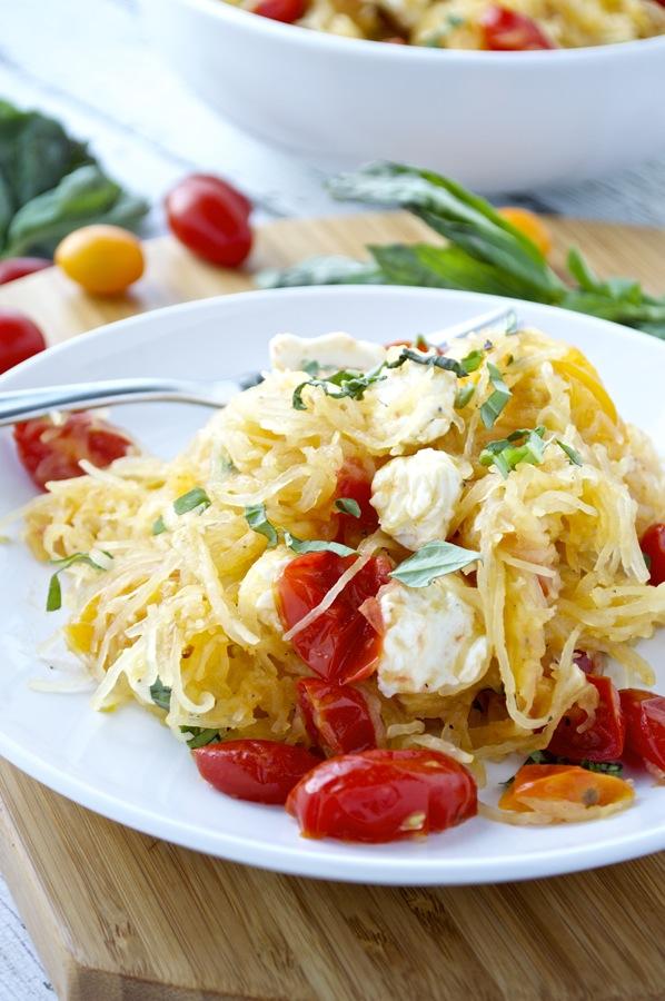 Caprese Spaghetti Squash