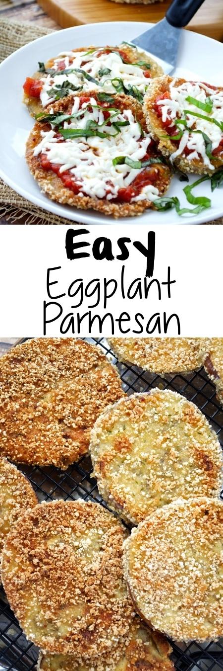 Easy Eggplant Parmesan Pin