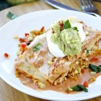 Creamy Vegetable Enchiladas