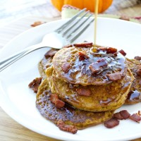 Pumpkin Pancakes {Paleo}