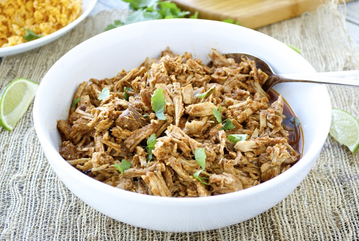 Slow Cooker Chipotle Pulled Pork