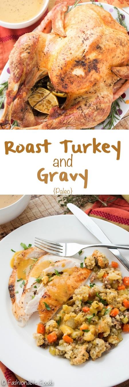 Roast Turkey and Gravy Pin