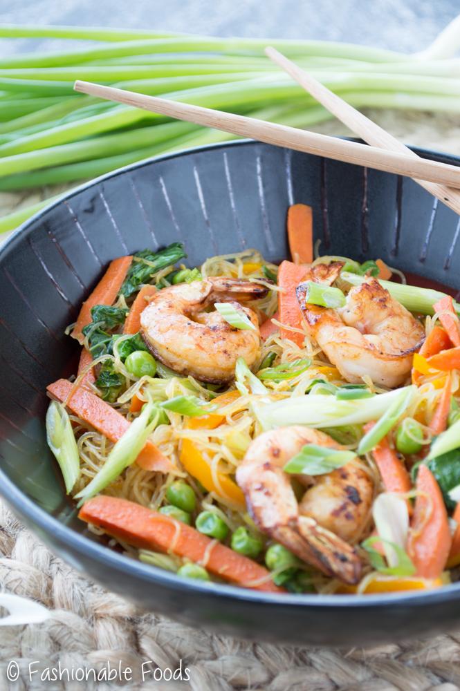 Singapore Street Noodle Bowl