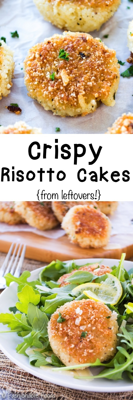 Risotto Cakes Pin