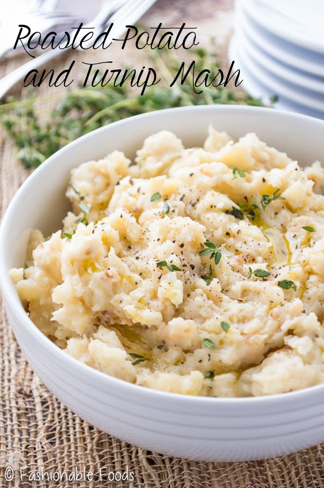 Roasted Potato and Turnip Mash