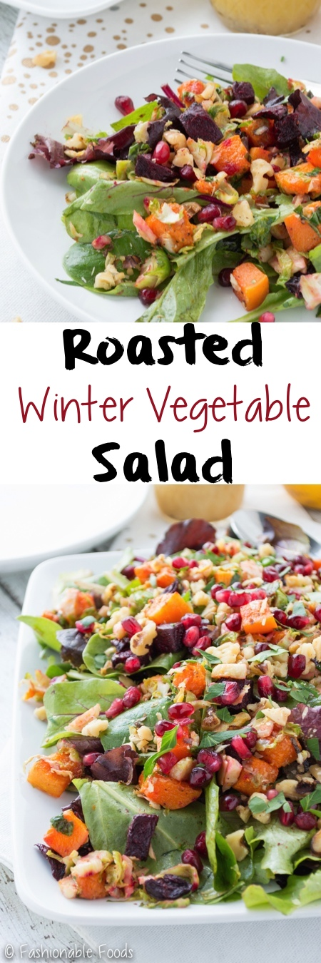 Roasted Winter Vegetable Salad Pin