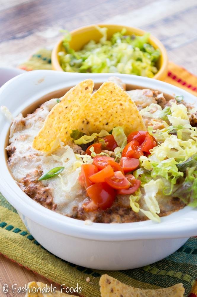 Hot Taco Dip 2
