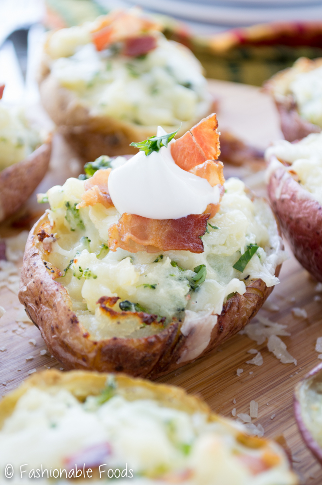 Loaded Twice Baked Potato 2