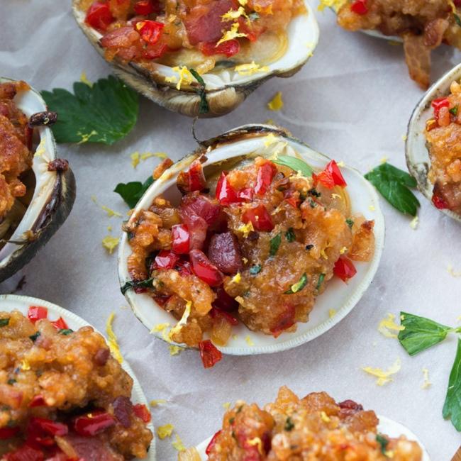 clams casino food