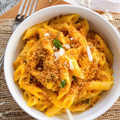 Stovetop Butternut Squash Macaroni and Cheese