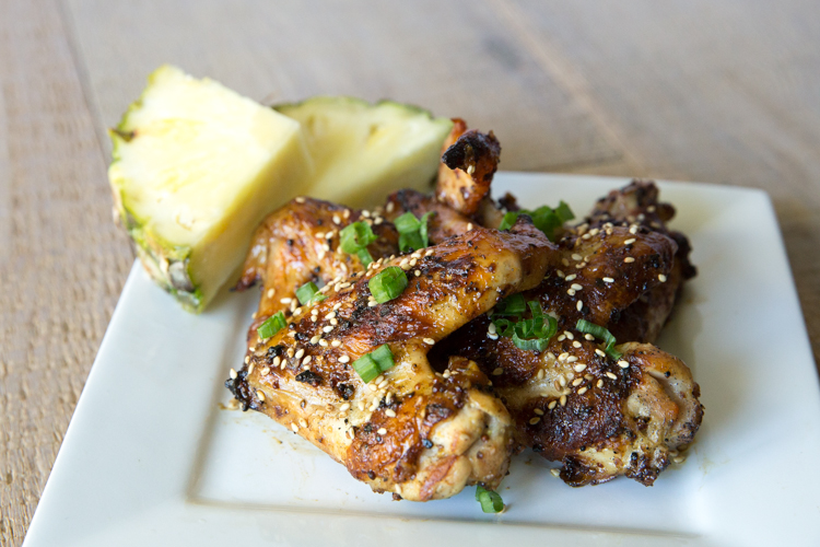 Mustard-Grilled-Pineapple-Chicken-Wings