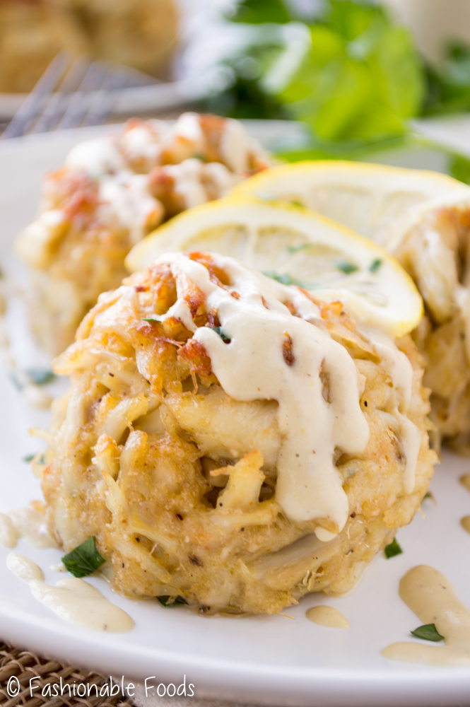 Perfect Crab Cakes With Creamy Dijon Sauce Fashionable