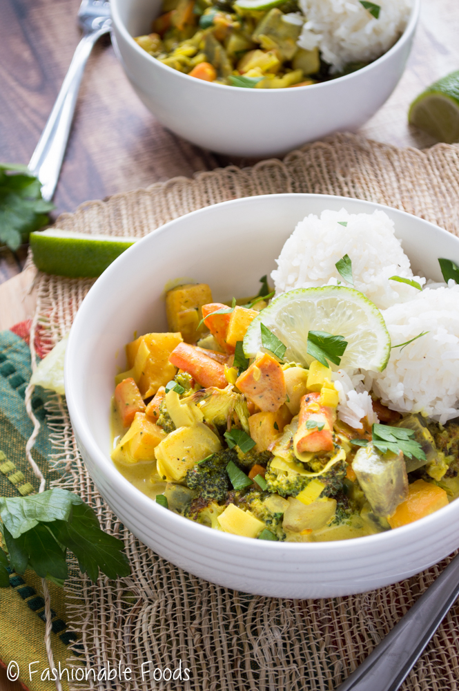 Roasted Root Vegetable Curry