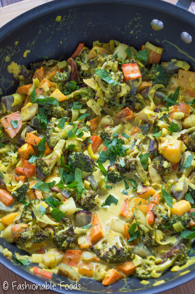 Vegan Root Vegetable Curry