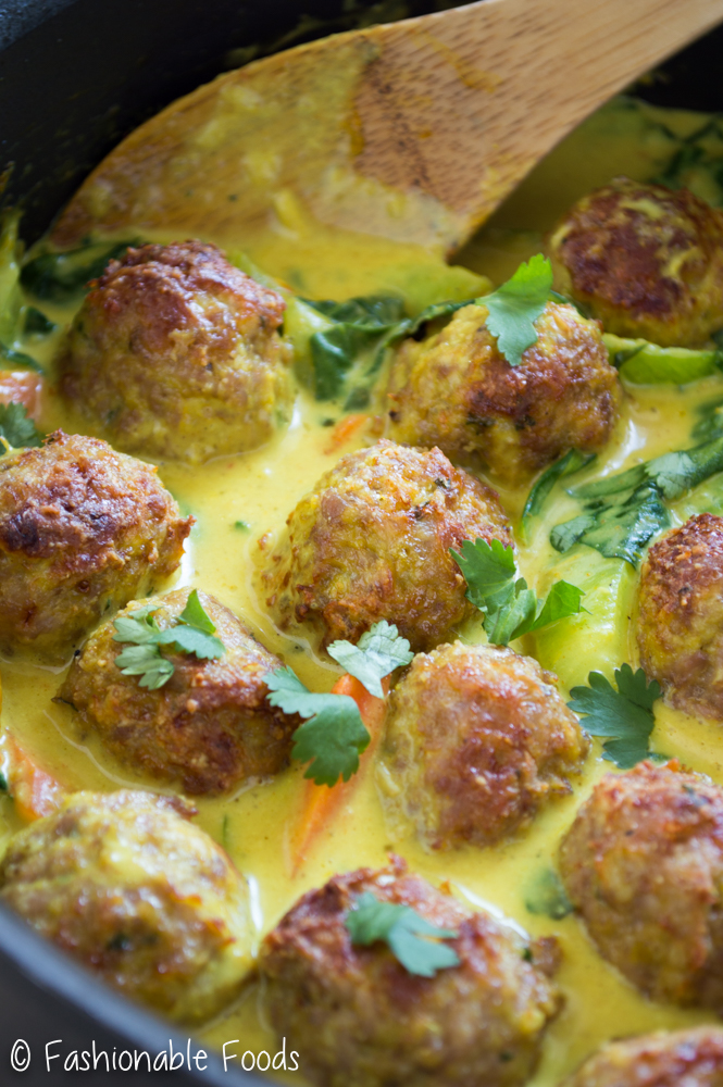 Thai Curry Meatballs
