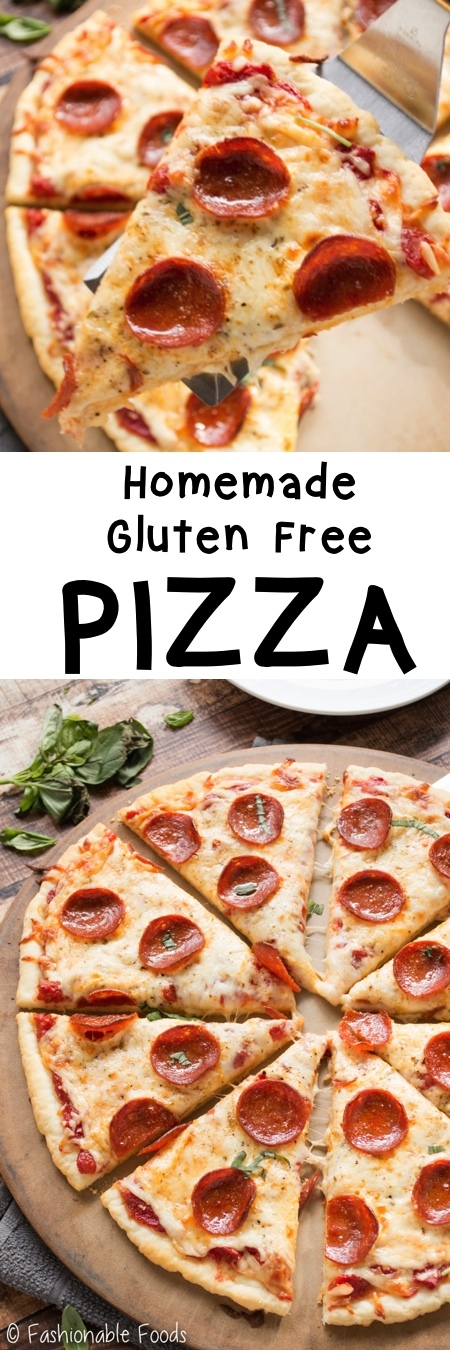 Homemade Gluten Free Pizza