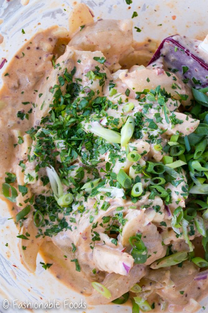 Creamy Chipotle Potato Salad