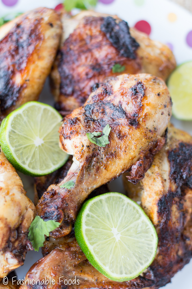 Chili and Citrus Grilled Chicken Pieces