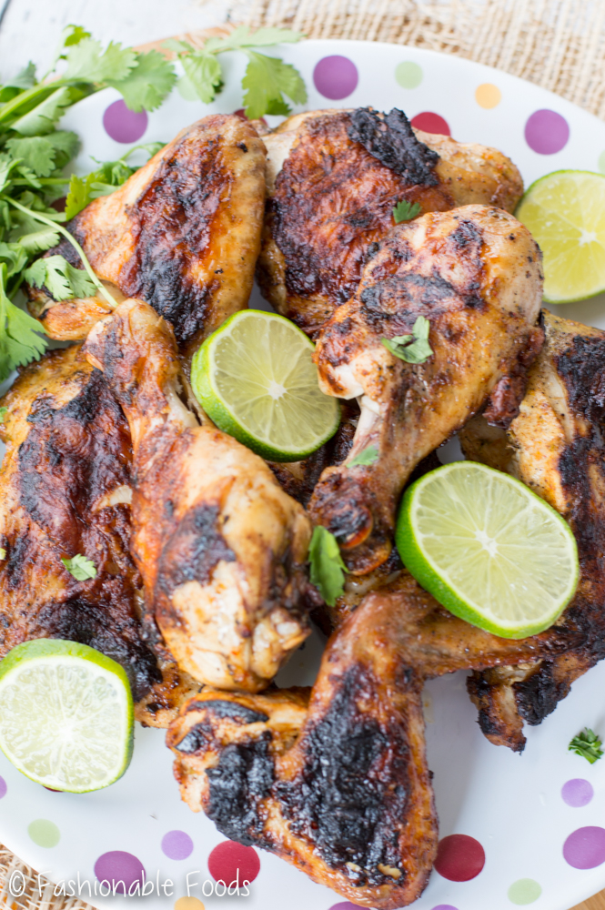 Chili and Citrus Grilled Chicken