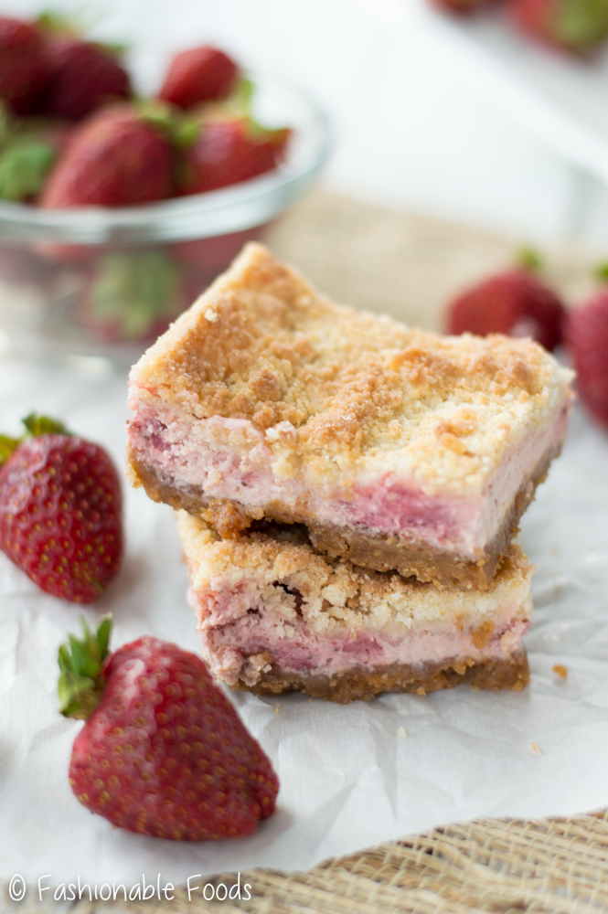 Stawberry Cheesecake Bar