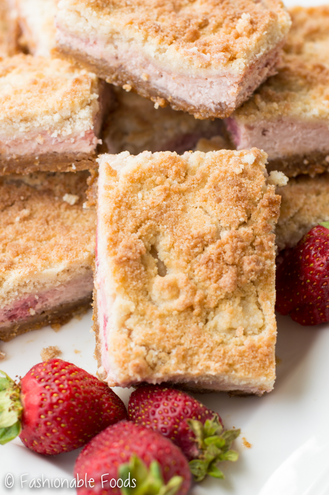 Stawberry Cheesecake Bars