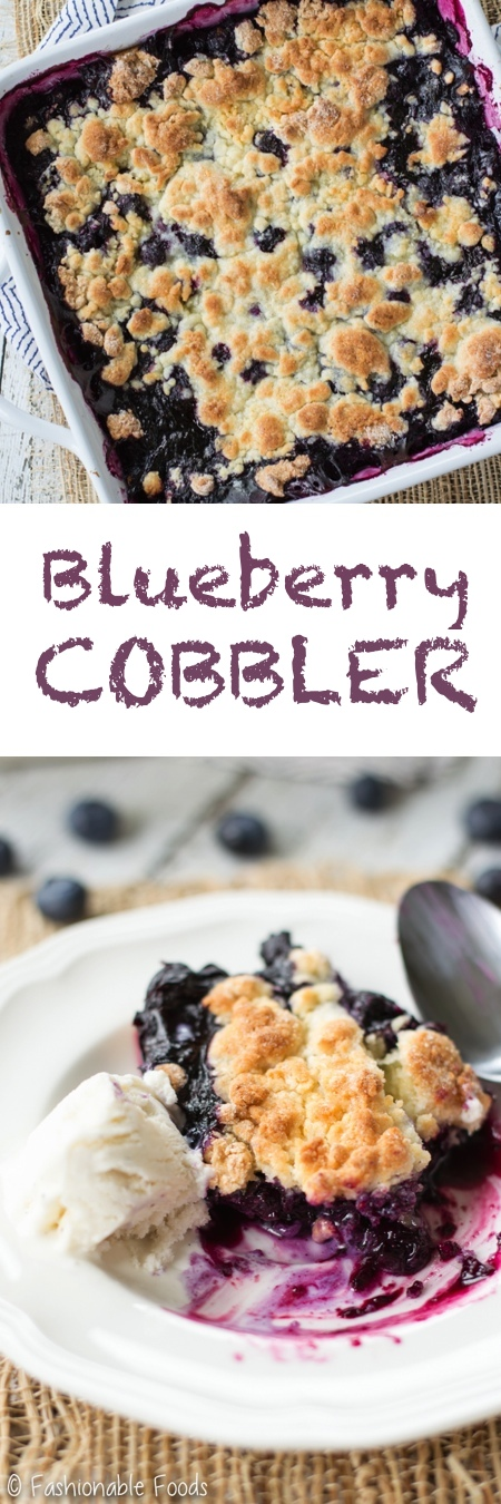 Blueberry Cobbler Pin