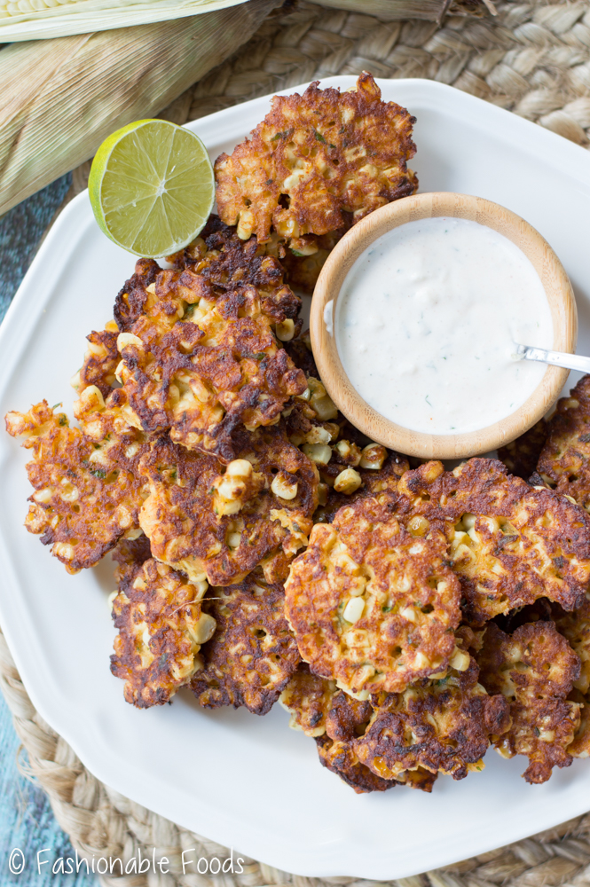 Mexican Street Corn Fritters 3