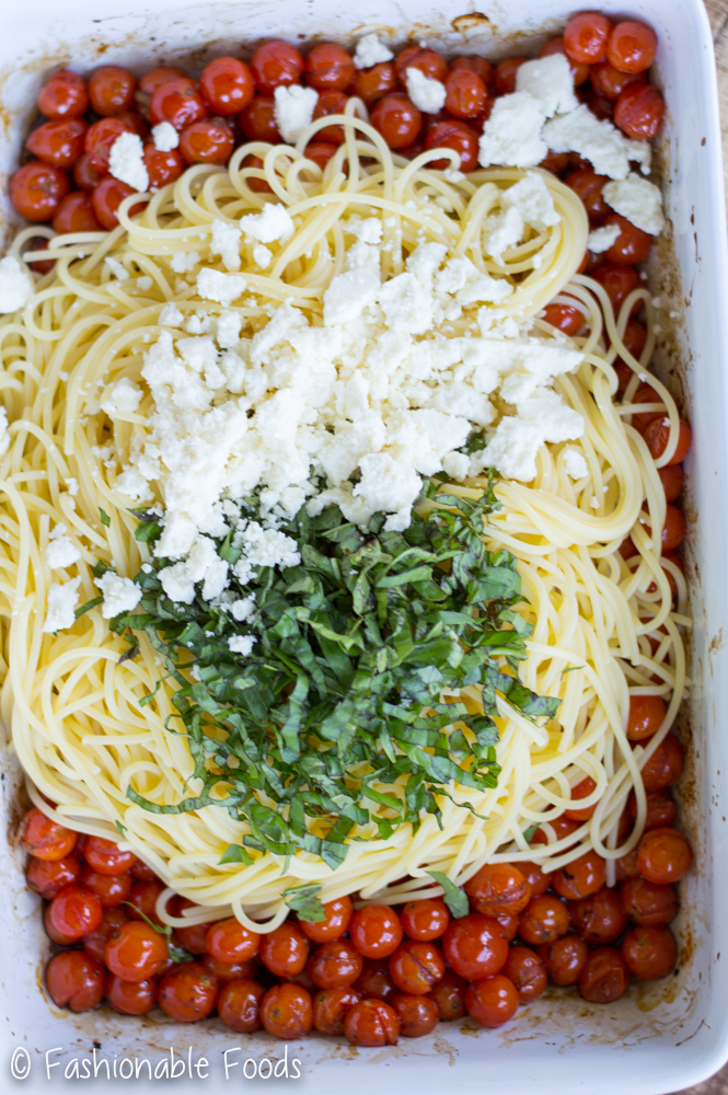 Roasted Cherry Tomatoes and Pasta