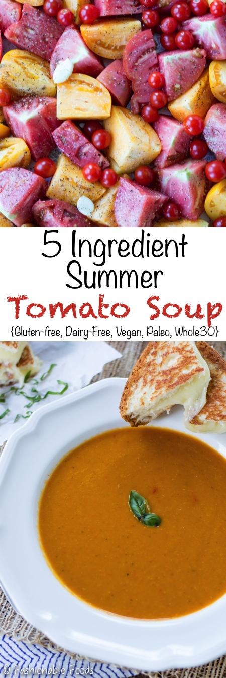 Summer Tomato Soup Pin