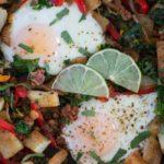 Chorizo and Vegetable Hash {Whole30}