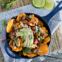 Paleo Brunch Nachos {with Chipotle Lime Ranch}