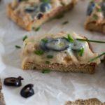 Open-Faced Balsamic Tuna Melt