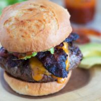 Chipotle BBQ Bacon Burgers