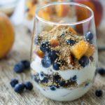 Puffed Quinoa, Fruit, and Yogurt Parfaits