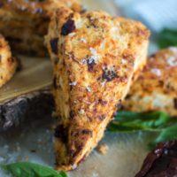 Sun-Dried Tomato Basil Scones