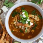 Easy Chipotle Chicken Tortilla Soup