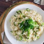 Broccoli Cheddar Risotto