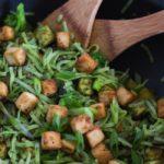 Asian Kale Pesto Noodle Bowls