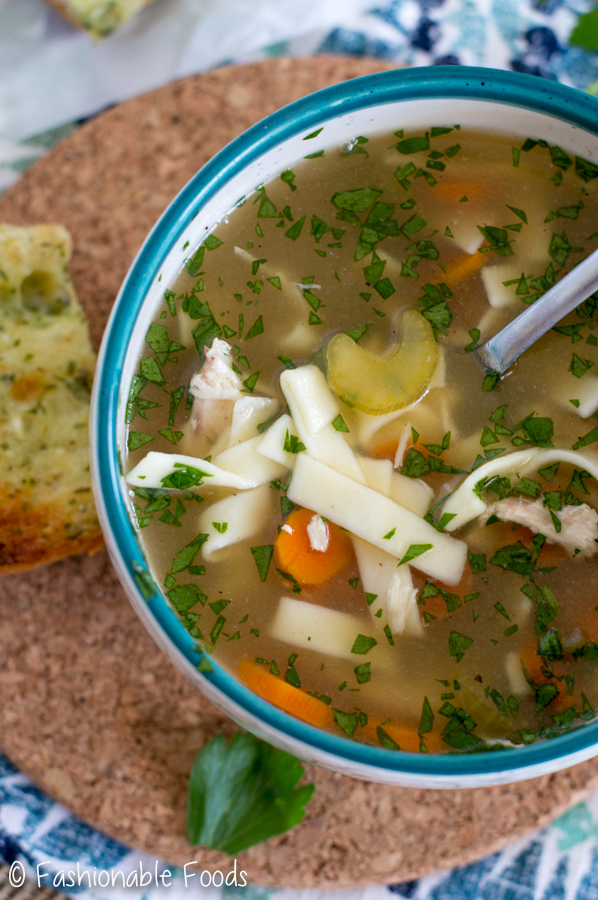how to make homemade chicken noodle soup