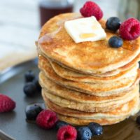 5 Ingredient Cottage Cheese Pancakes