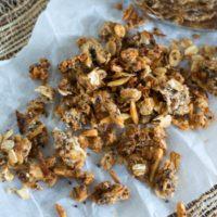 Crunchy High Fiber Granola