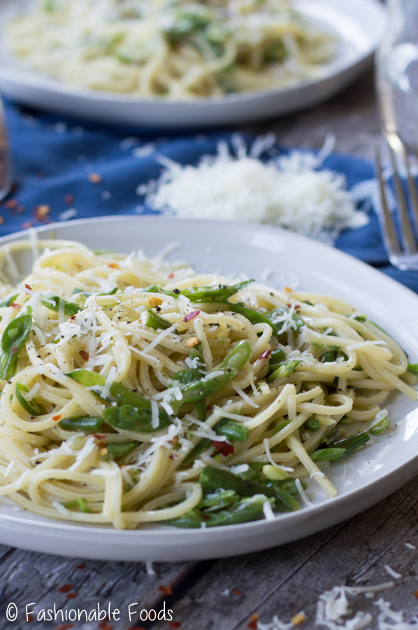 Plated 5 Ingredient Pasta