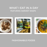 What I Eat in A Day | Featuring Harvest Snaps