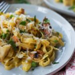 Tagliatelle with Lobster and Saffron Cream Sauce