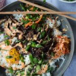 Korean Style Mixed Rice Bowls (Bibimbap)