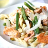 Salmon and Green Bean Pasta Salad